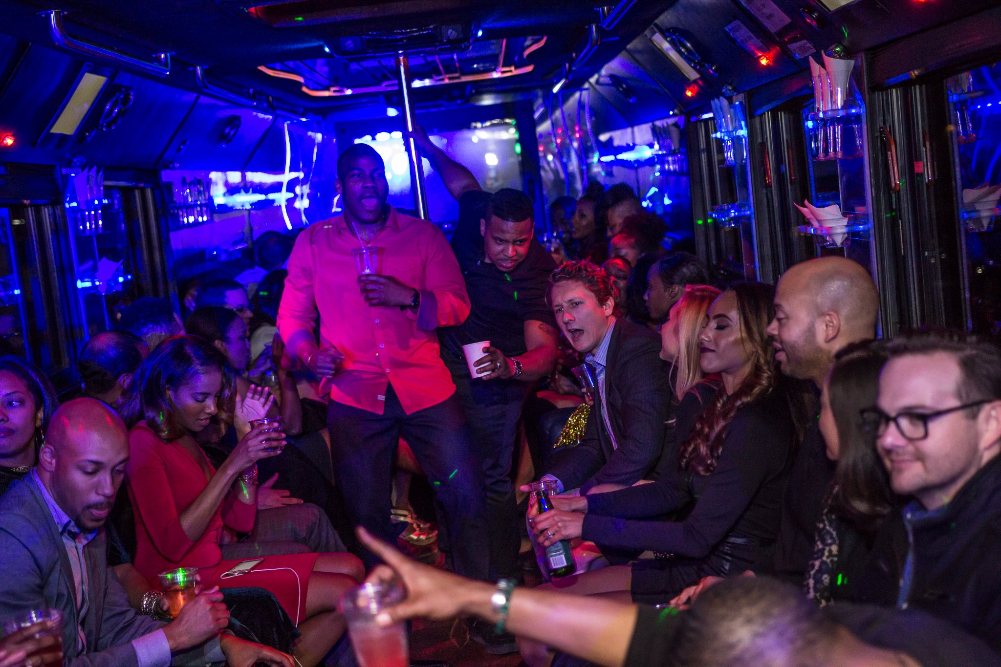 Getting Your Required Dose of Iron in a Party Bus